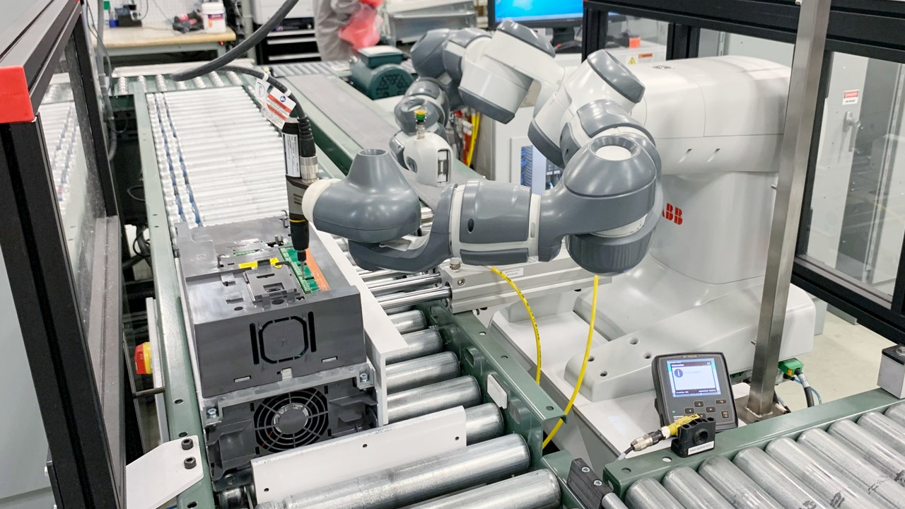 Variable frequency drive manufacturer successfully implements robotic automation, now ready for more