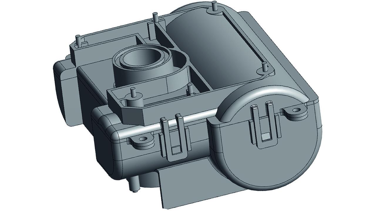 06 Battery holder inside the sensor.