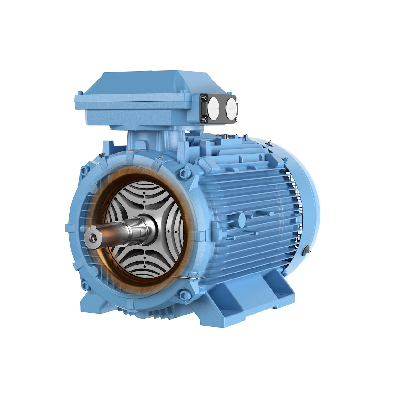 ABB's SynRM motor in the IE5 ultra-premium energy efficiency class