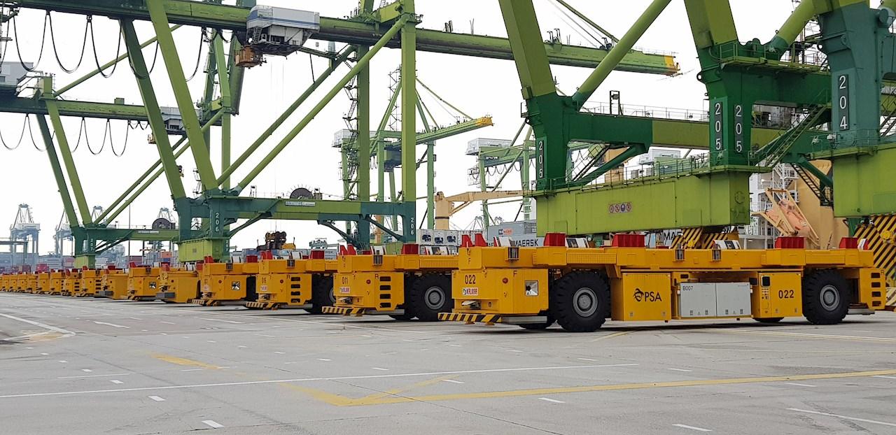 Image 1 - PSA container terminal in Singapore