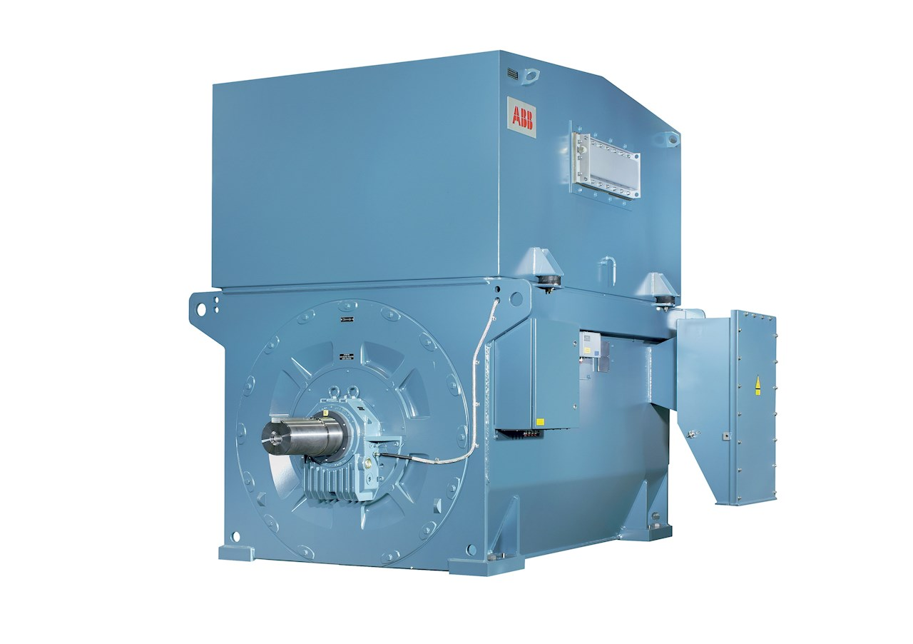ABB motor with modern AC design