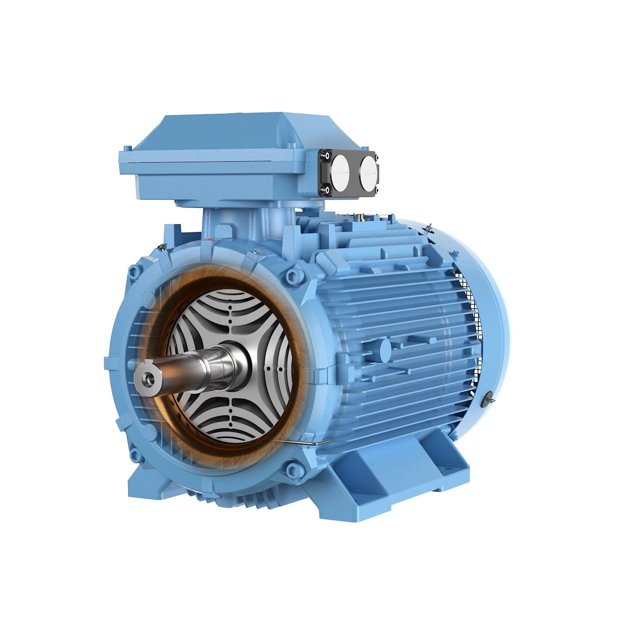 El motor SynRM de ABB en la clase de eficiencia energética ultra-premium IE5.