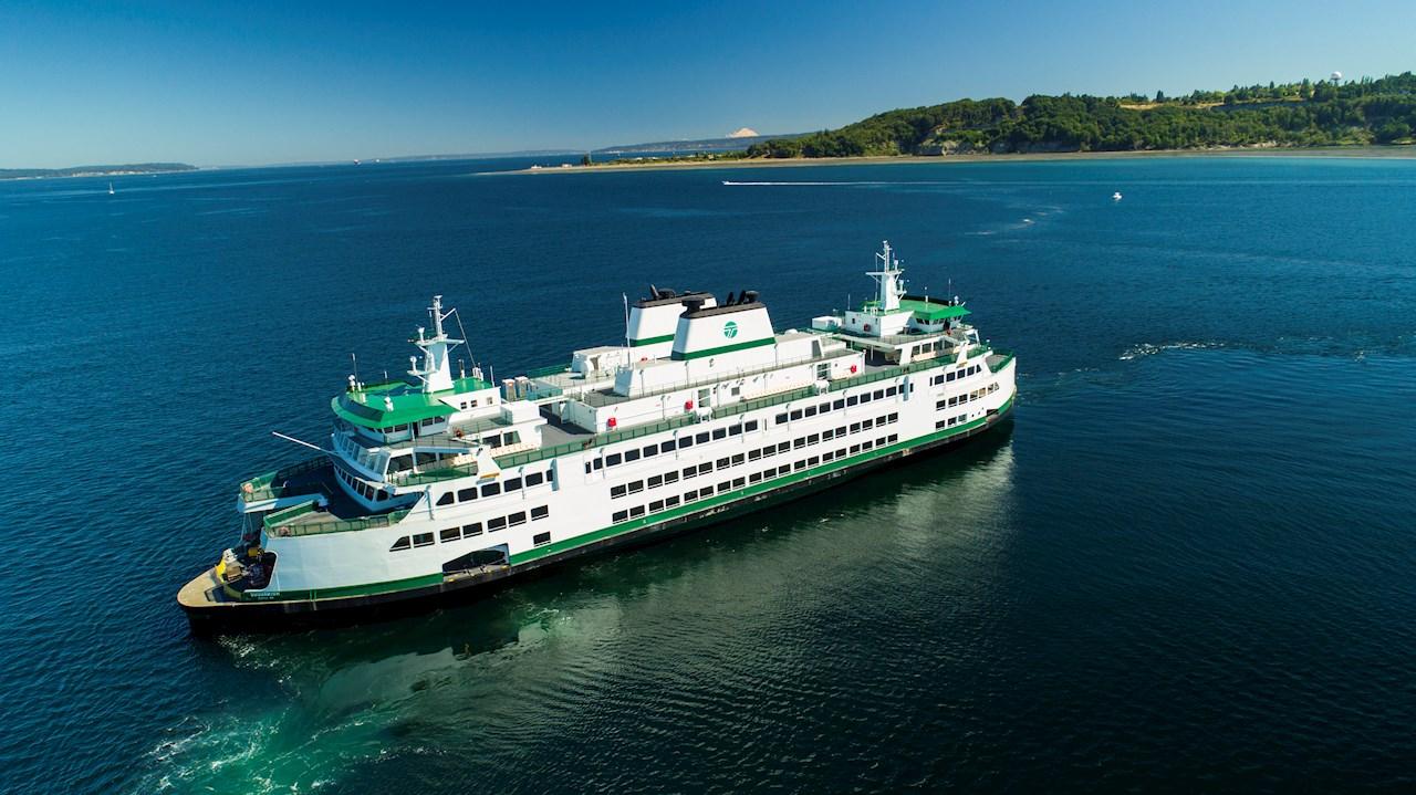 Den første hybridelektriske «Olympic»-klasse-fergen vil kjøre for Washington State Ferries i 2024 (Foto: Vigor).