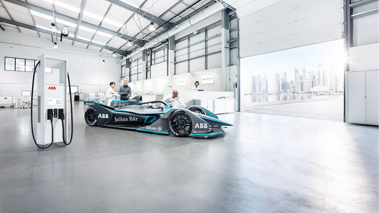 ABB fournira la technologie de charge des voitures de 3ème génération qui participeront au Championnat ABB FIA de Formule E
