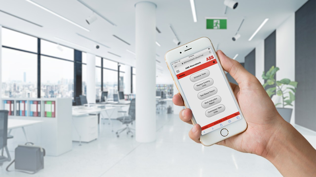 "ABB launches a ""first-of-its-kind"" in monitored emergency and exit lighting"
