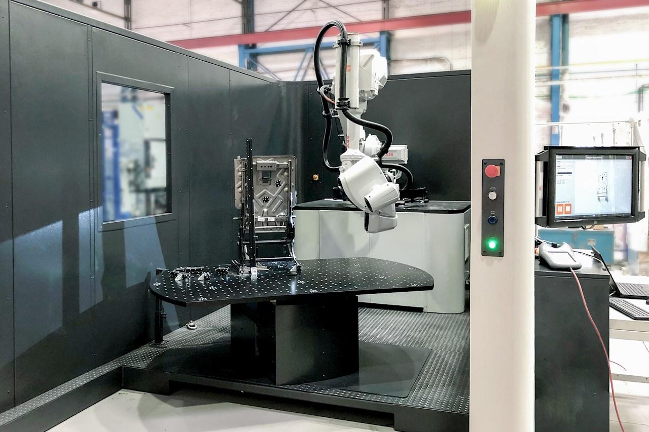 Célula de inspección de calidad 3D