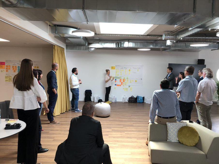Anfang Juli traf sich das uptownBasel-Team nach mehreren virtuellen Sitzungen in Basel erneut zu einem Co-Creation Workshop.