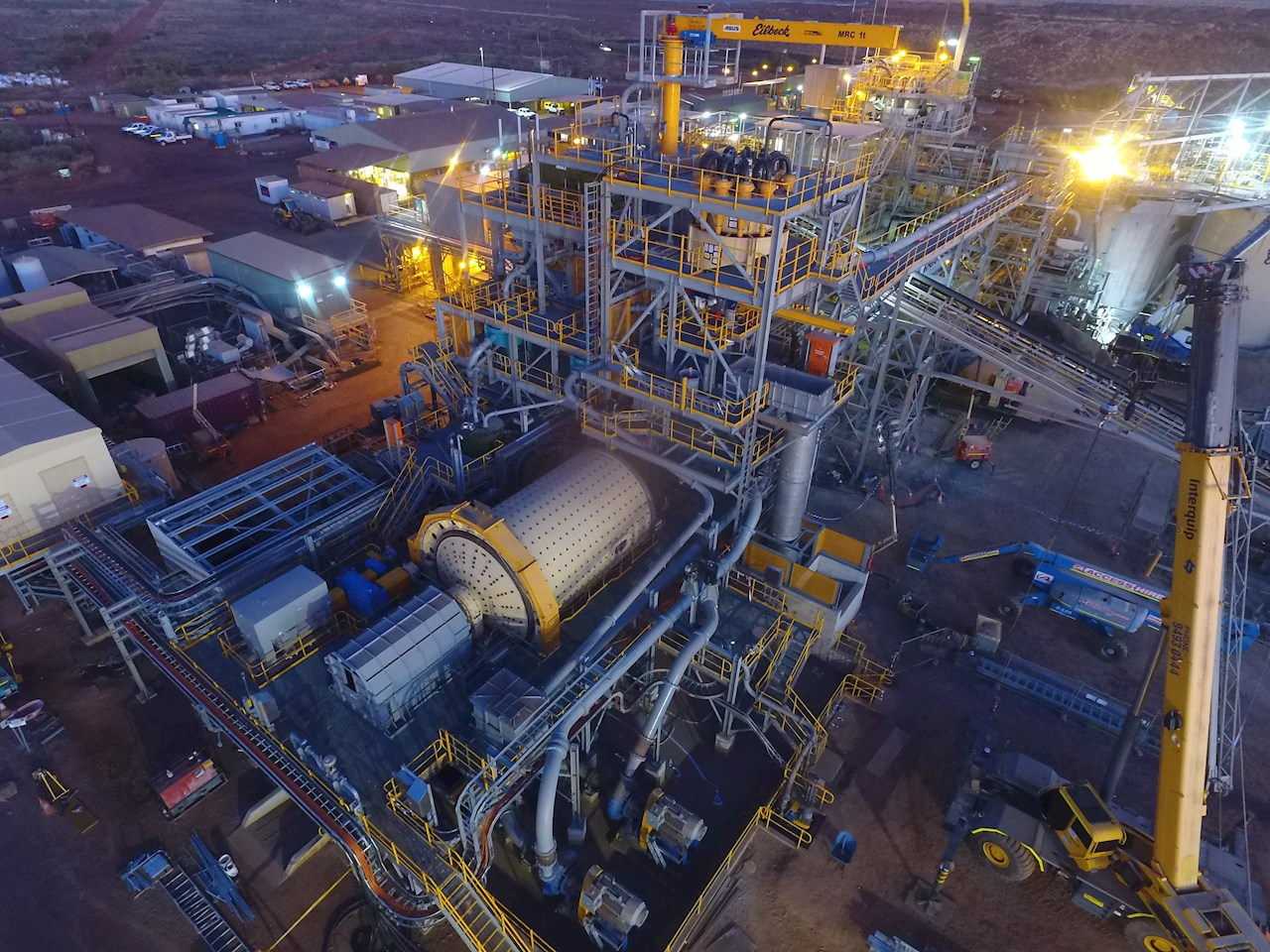 ABB will provide mine hoist systems to increase production at Newmont's Tanami gold mine in Australia  (Images courtesy of Newmont)
