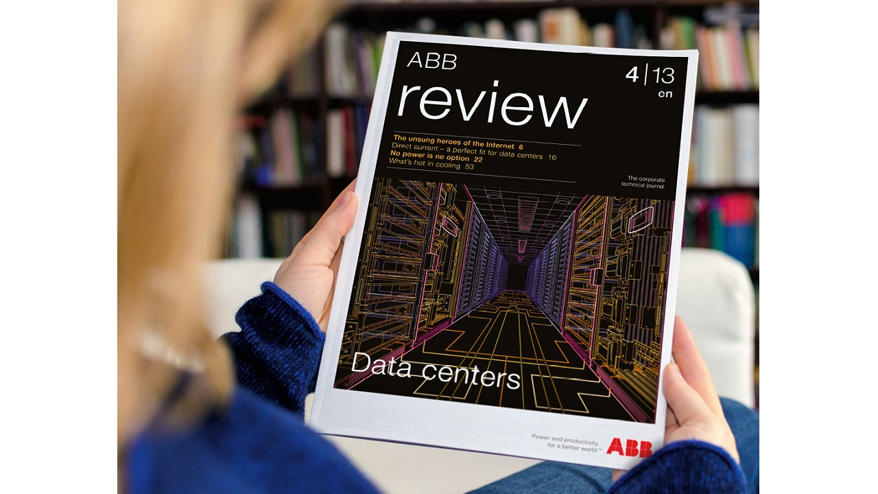 01 The previous issue of ABB Review dedicated to data centers was 4-­2013. ABB has now been in the data center industry for around 25 years.