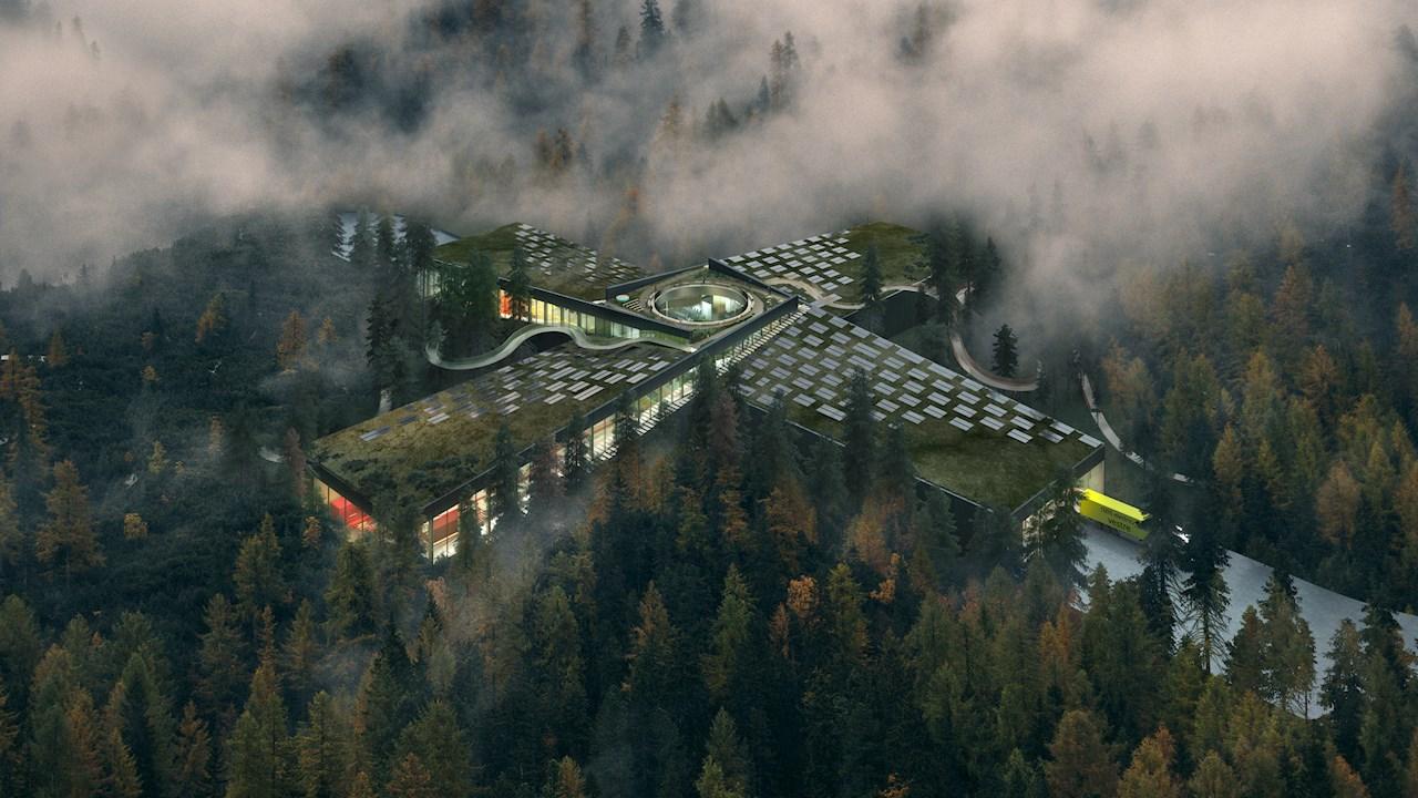 Fábrica The Plus - Vestre que será construida en Magnor, Noruega.