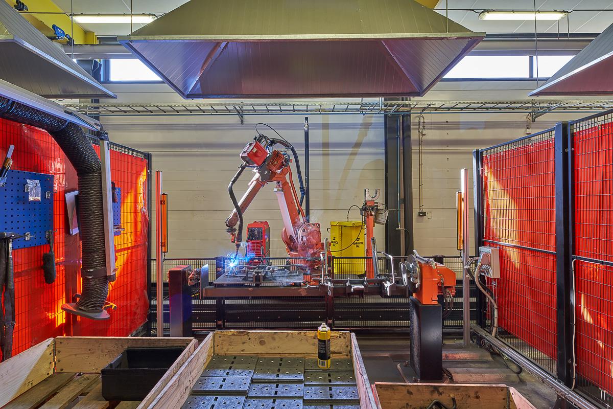 Fábrica de Vestre factory en Torsby, Suecia.