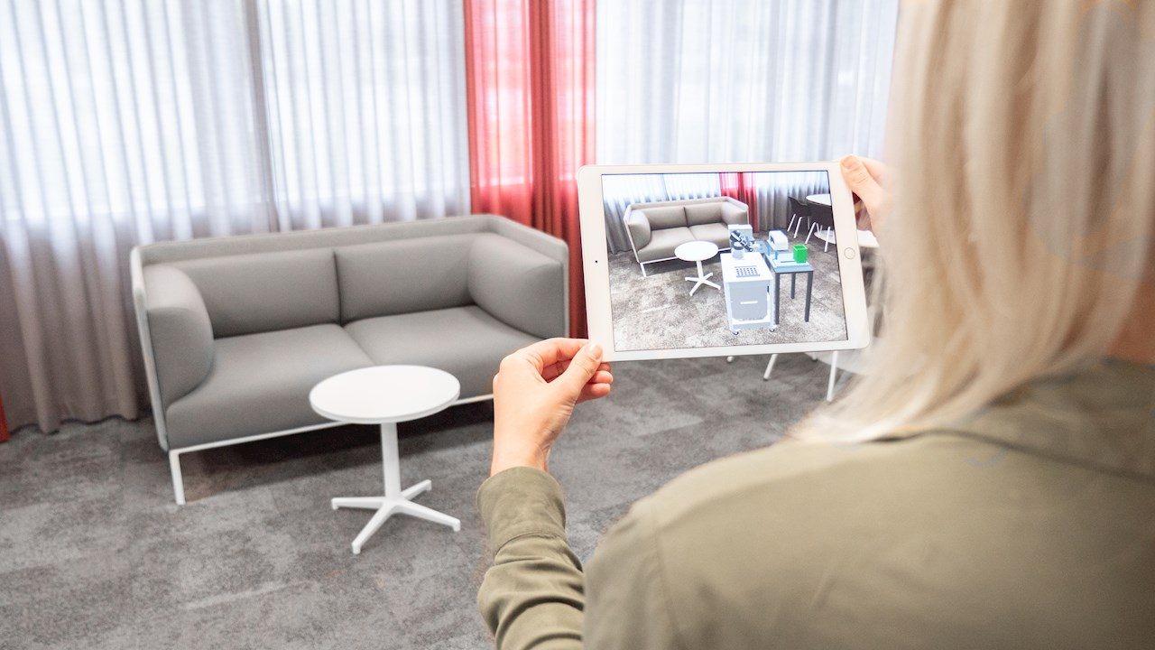 ABB offers Augmented Reality on a smartphone to simplify robot installations