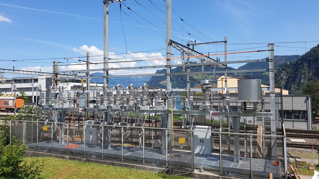 Clevere modulare Lösung für die Bahnschaltanlage Hergiswil