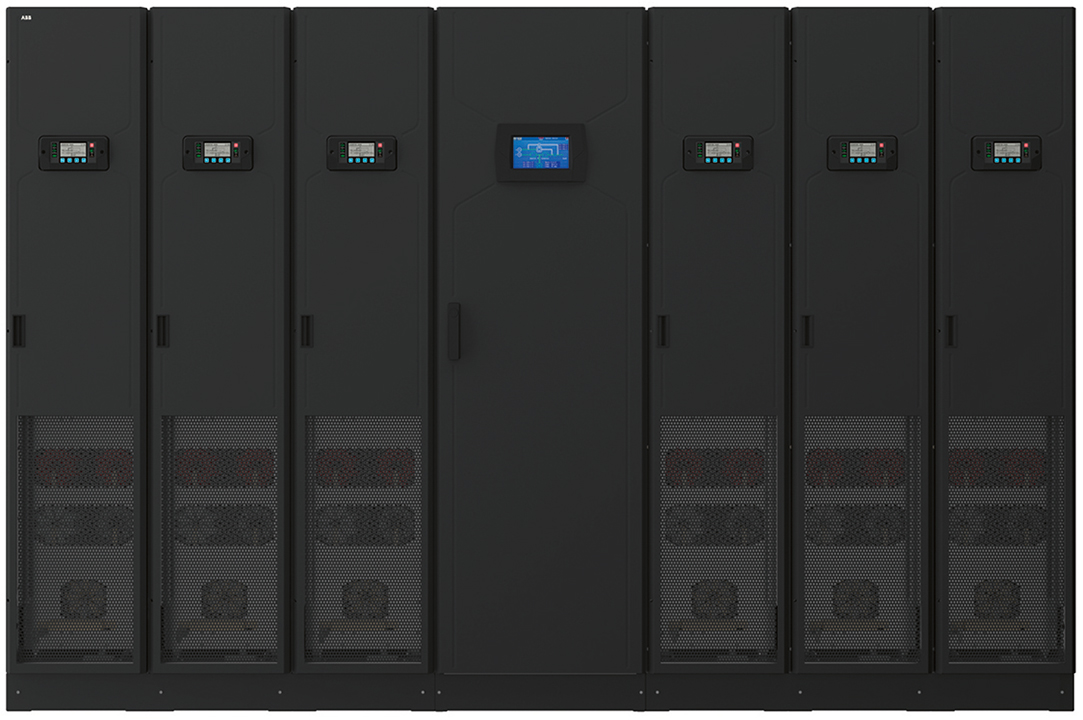 01 The ABB Megaflex DPA UPS. Here, a 1.5 MW configuration is shown.