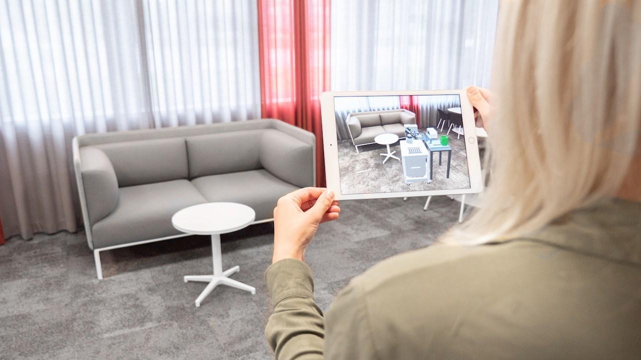 La Réalité Augmentée sur smartphone/tablette offre de nouvelles possibilités pour planifier et visualiser les installations robotiques