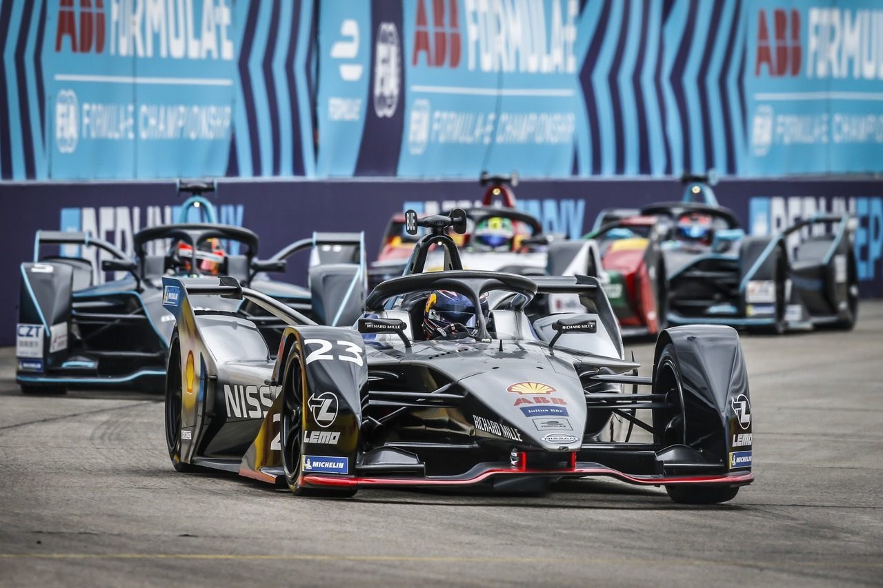 ABB Formel E avgjøres i Berlin.