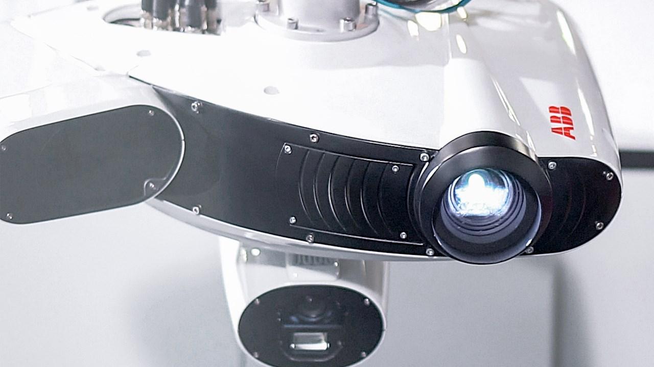 Nova célula robótica de inspeção 3D da ABB torna os testes de controle de qualidade dez vezes mais rápidos