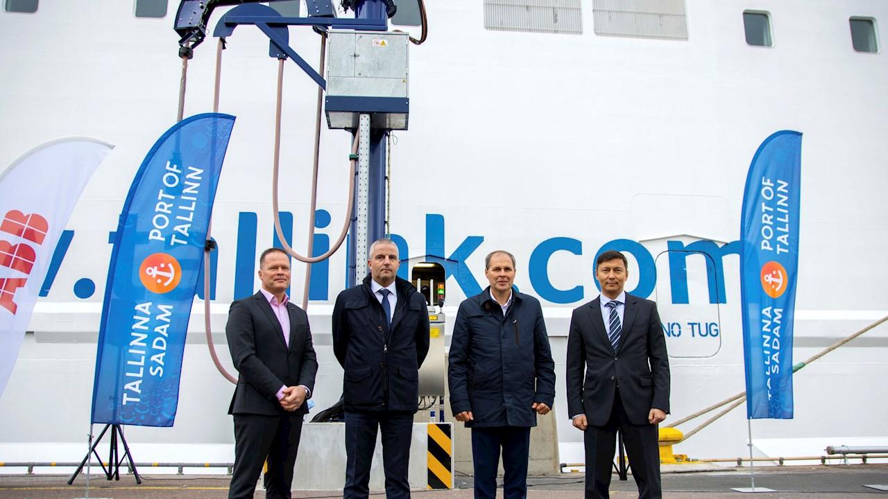 Täna ühendatud kaldaelektri lahendus toob Vanasadamasse ja Tallinna linna puhtama õhu ja vähem müra