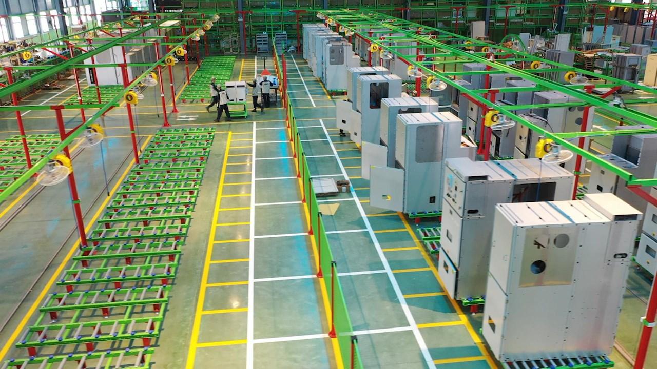 ACIT's medium voltage switchgear production line