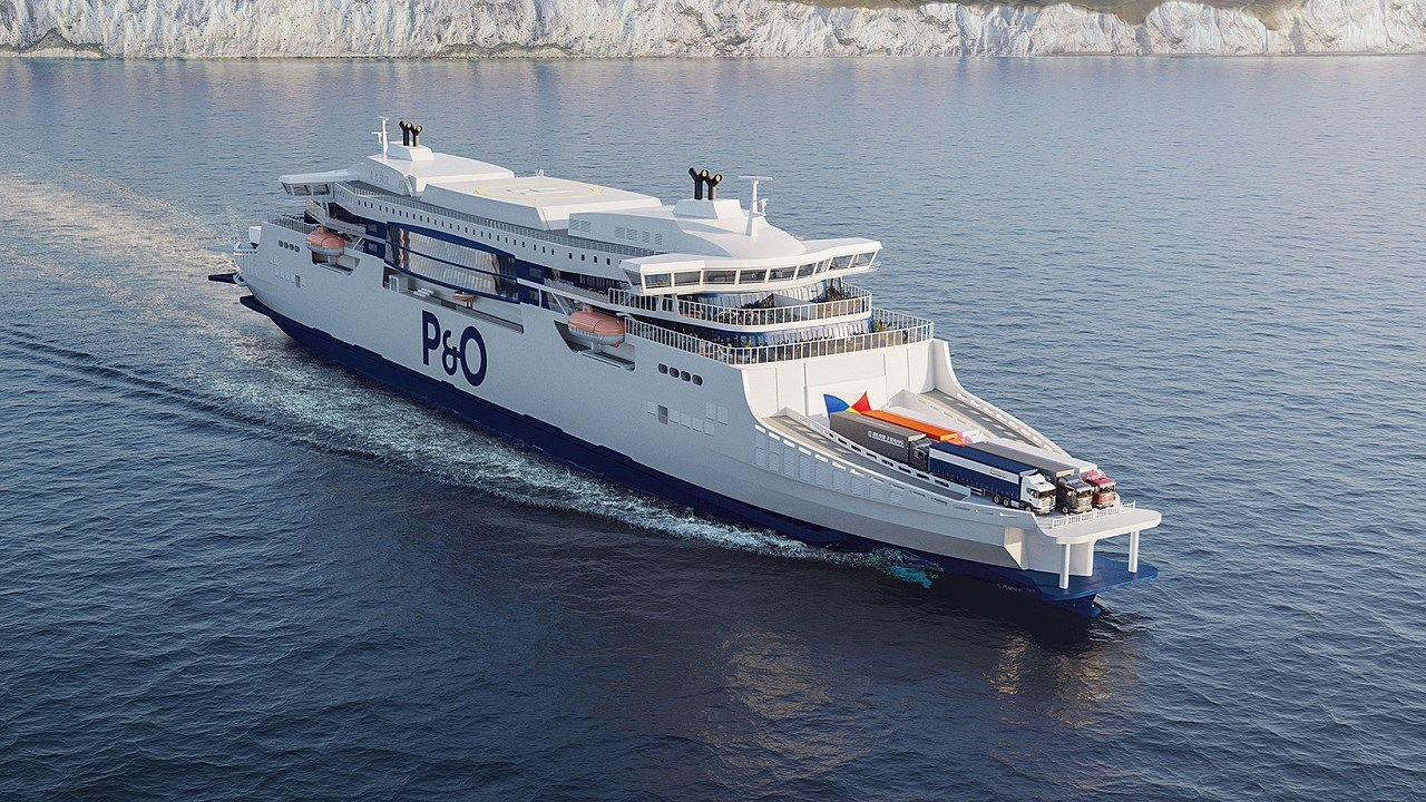 ABB powers P&O super-ferries towards new sustainable transport era