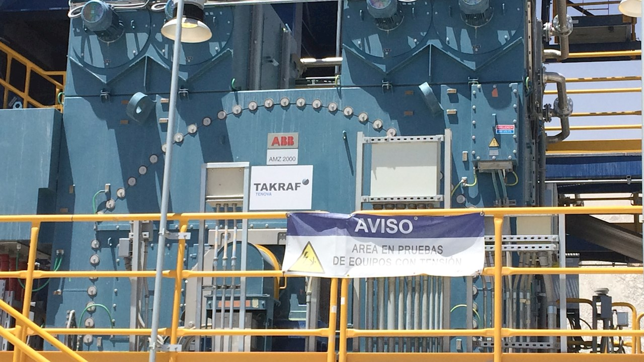 ABB completes commissioning of the world's most powerful conveyor system