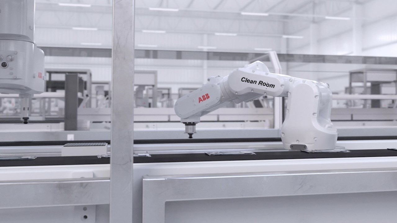 ABB sets new benchmark for automating cleanroom applications