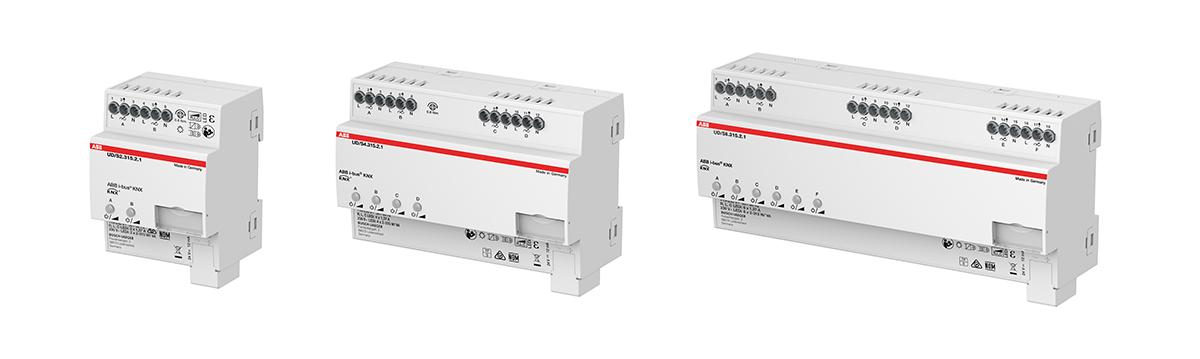 KNX LED-universaldimmere finnes i 2, 4 og 6 kanaler