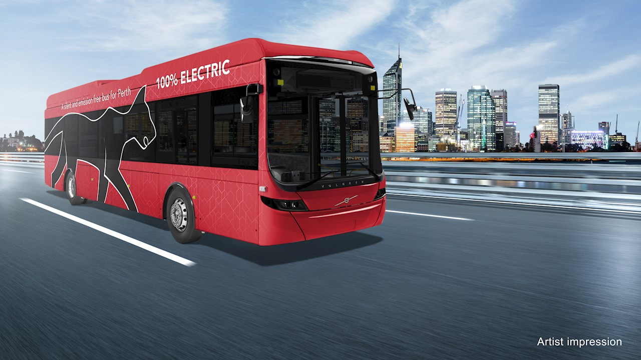 Western Australia's first electric public transport bus route powered by ABB