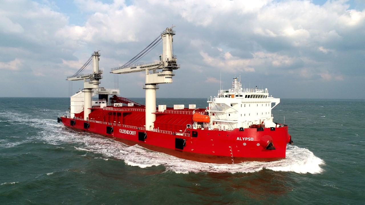 21,500-DWT transshipment bulker Calypso
