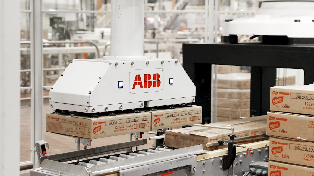ABB confectionery palletizing solution enhances collaboration and improves productivity by 53 percent