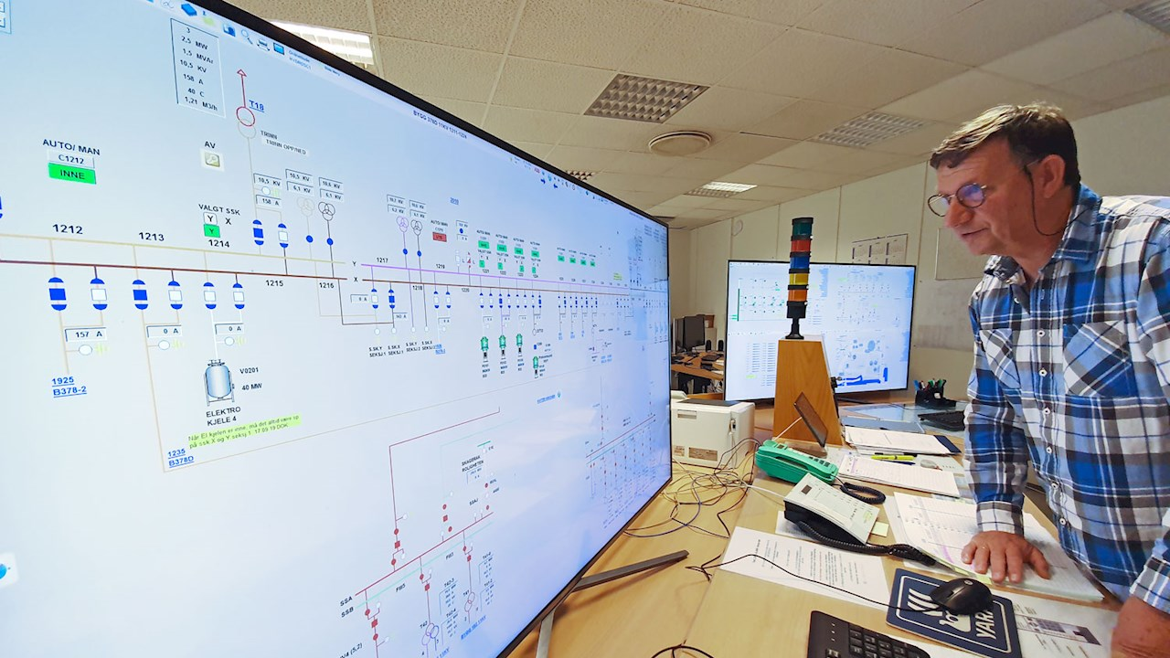 ABB upgrades the power supply to one of Norway's largest industrial clusters