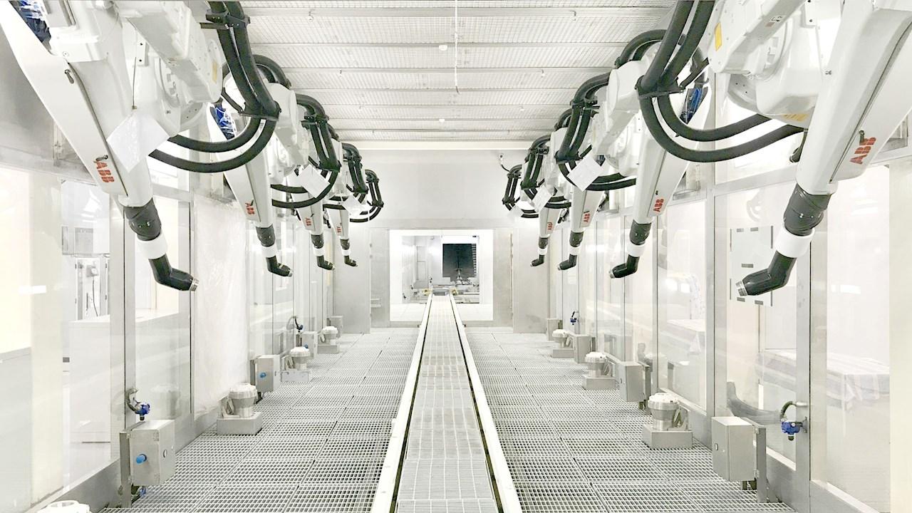 OLA setzt in Elektroroller-Megafabrik auf Robotik- und Automatisierungslösungen von ABB