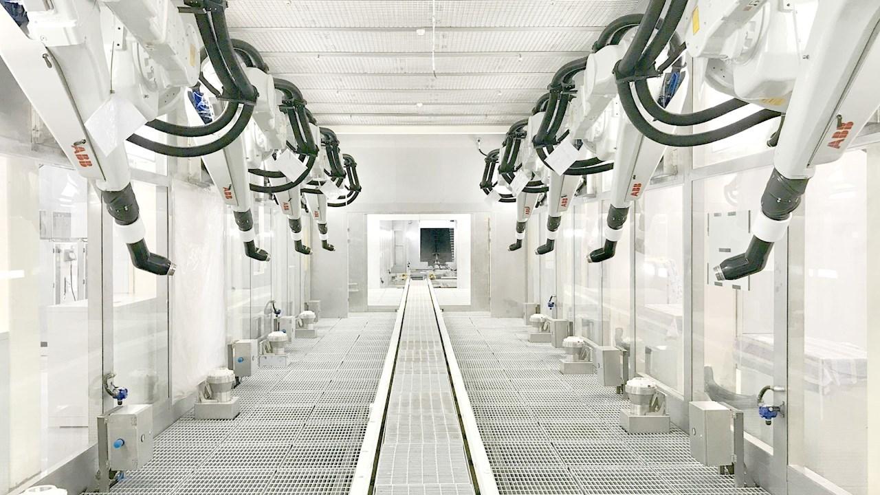 OLA déploie les solutions robotisées et d'automatisation ABB dans sa méga-usine de scooters électriques