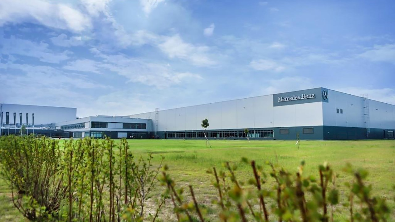 ABB drives take care of HVAC and water supply systems of Moscow Mercedes-Benz plant