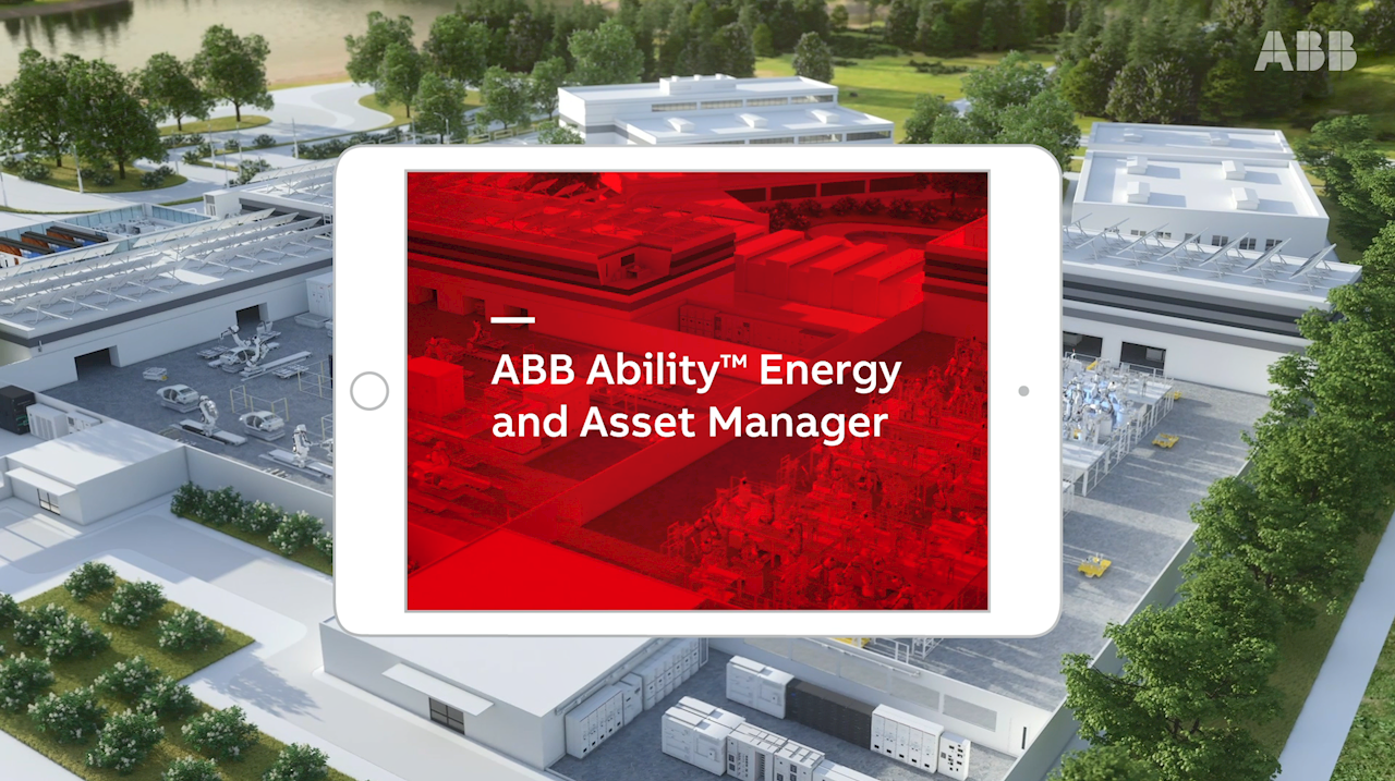 ABB Ability™ Energy and Asset Manager finner du på ABB Ability Marketplace™