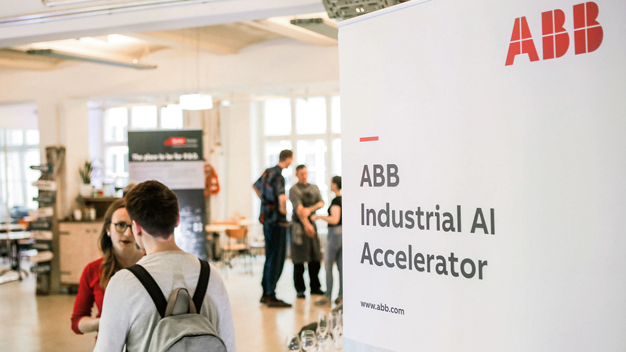 01 The Industrial AI Accelerator program sought out startups with capabilities in AI.
