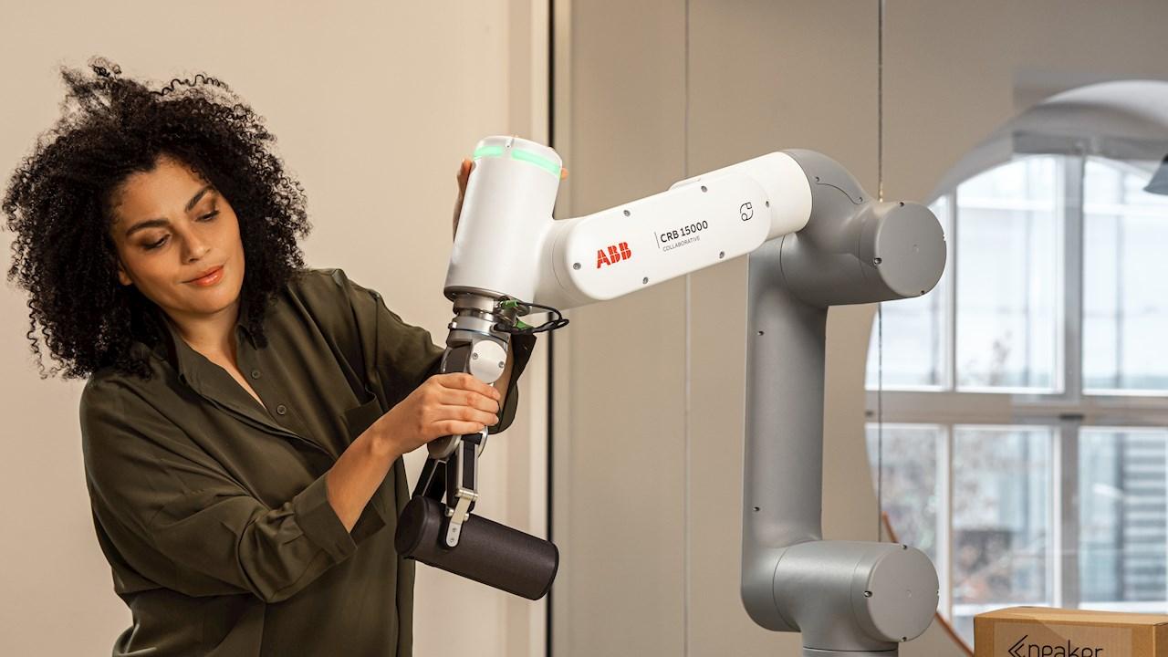ABB präsentiert GoFa™ – einen Cobot mit höherer Traglast für kollaborative Aufgaben bis 5 kg
