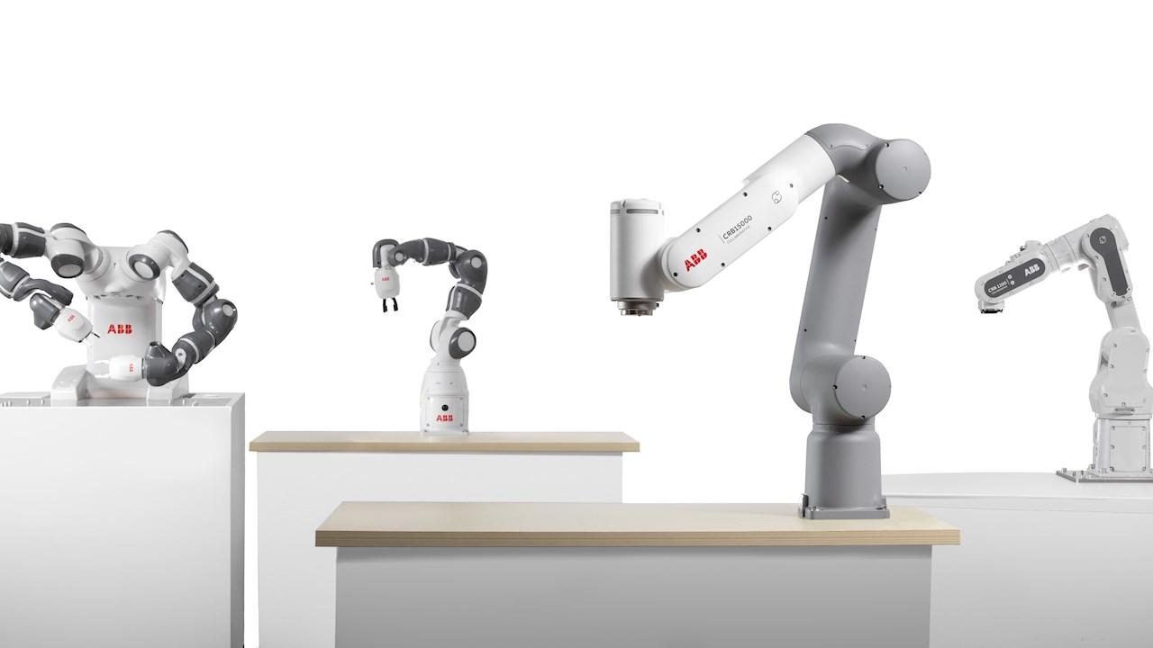 ABB lanza la nueva generación de cobots para impulsar la automatización en nuevos sectores y usuarios principiantes