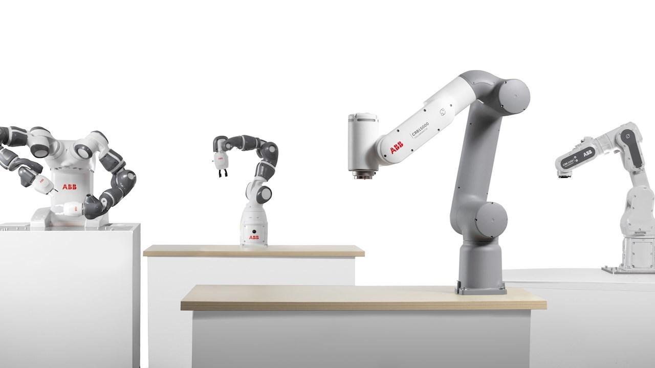 ABB, ilk kez kullananlar ve yeni sektörler için otomasyonun önünü açmak üzere yeni nesil kobot'larını piyasaya sürüyor
