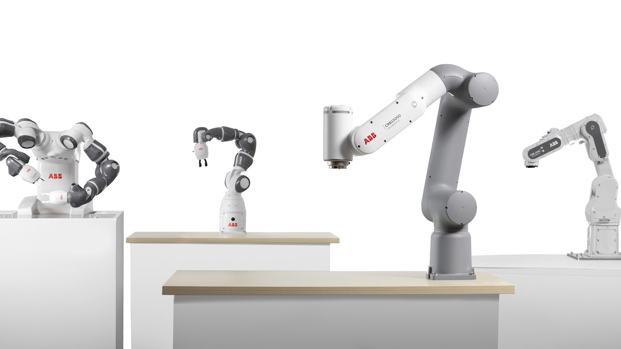 ABB prezentē jaunās paaudzes kobotus, kas atvērs inovatīvas automatizācijas iespējas jauniem sektoriem un lietotājiem.