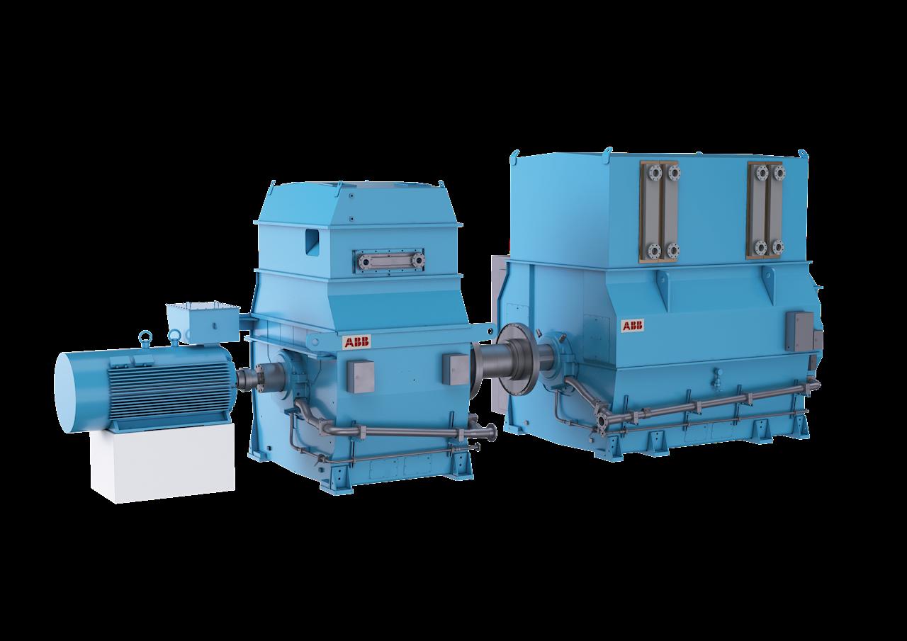 Los condensadores síncronos ABB respaldan la estabilidad de la red y permiten conectar a la misma más energías renovables.