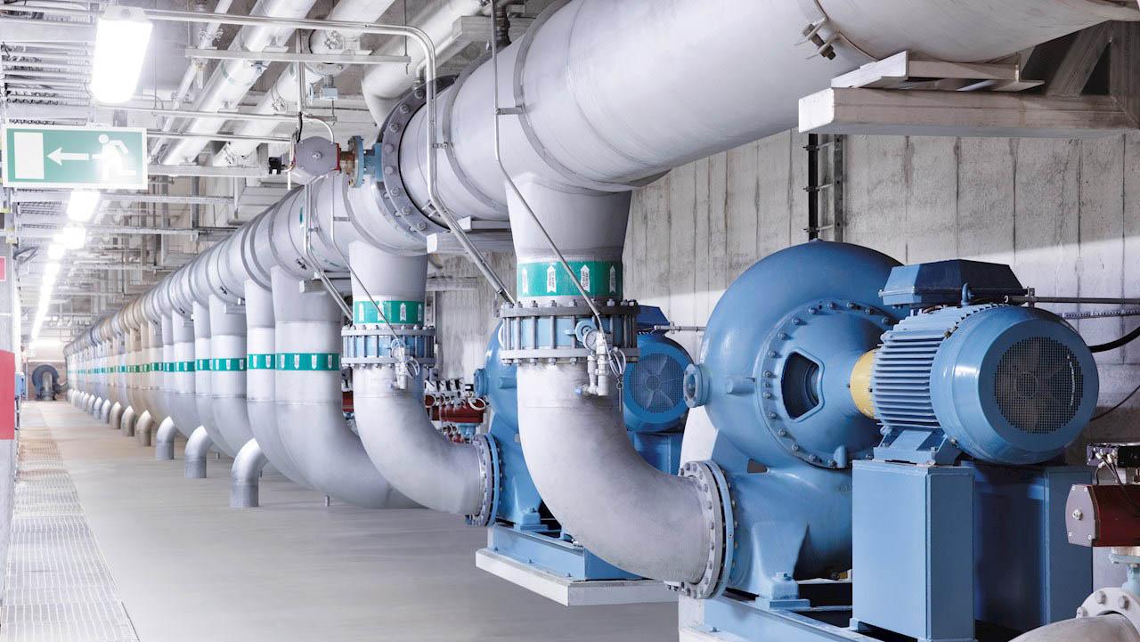 Pumpeapplikasjoner som dette er bredt spredt over alle bransjer og bygninger og er et hovedmål for energibesparelser.
