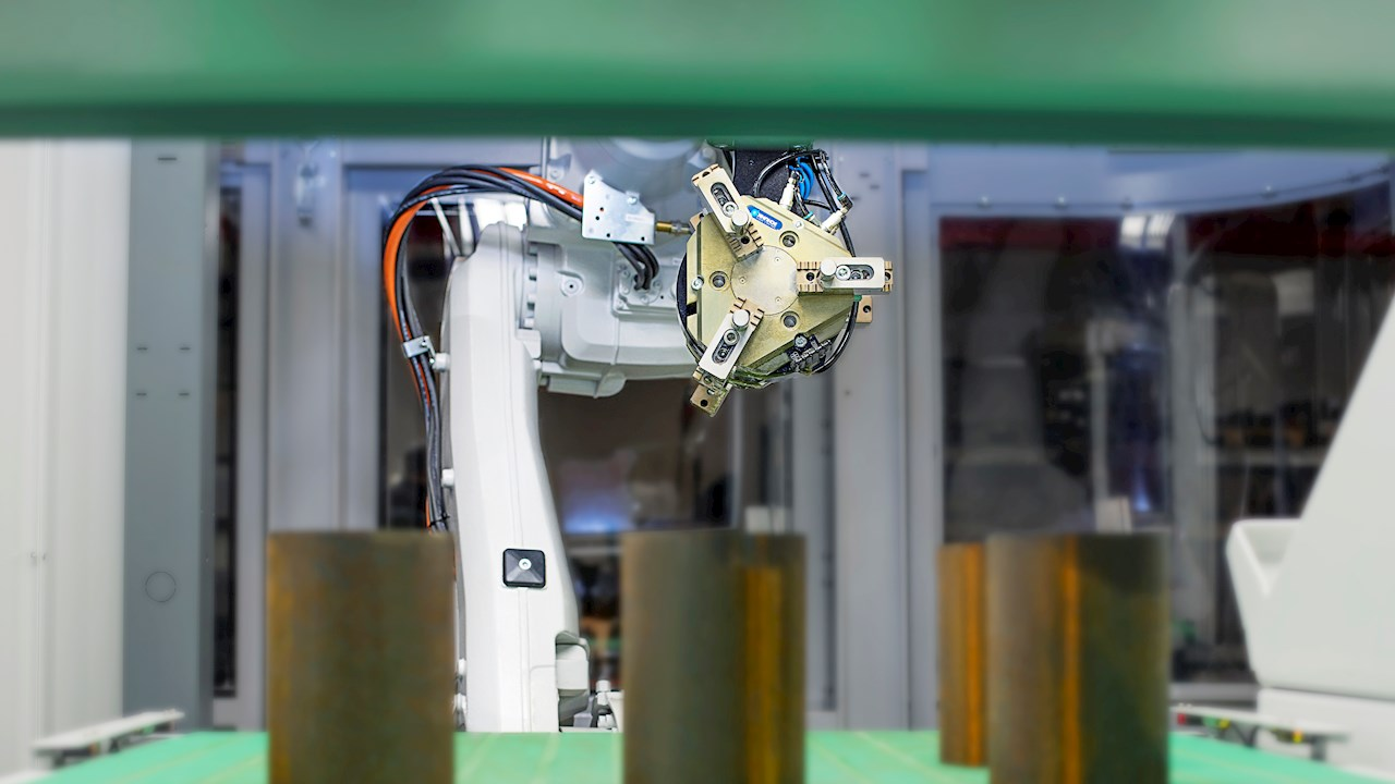 First robot and flexible multi-operation turn proves to be a big step for Grantek