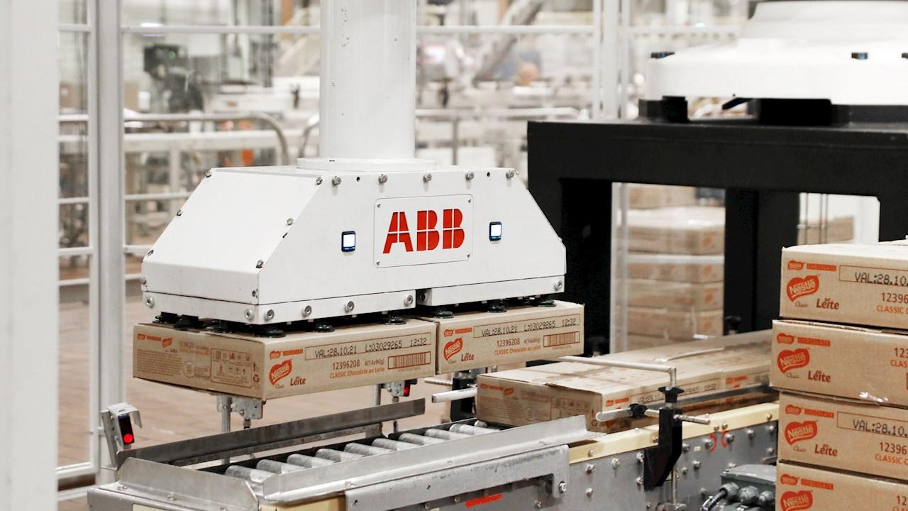 Los robots de ABB aumentan la productividad de las plantas brasileñas de Nestlé en más de un 50%