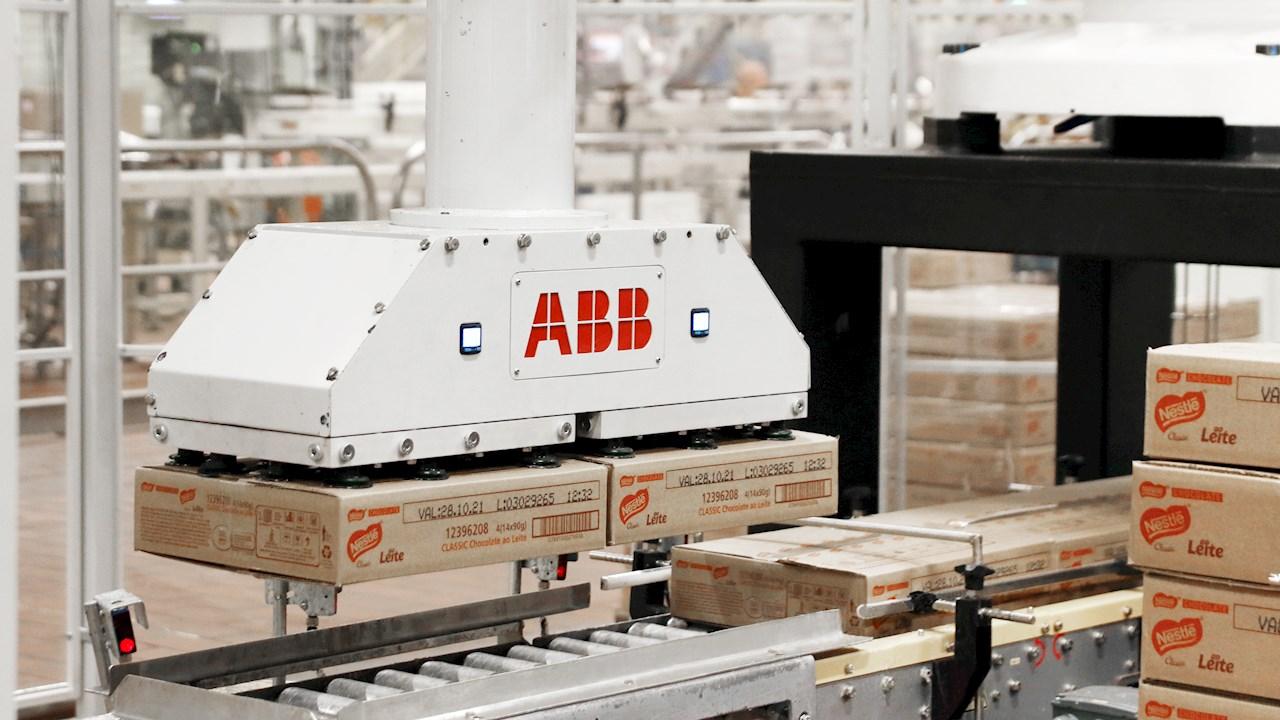 Roboter von ABB steigern Produktivität in Nestlé-Werken in Brasilien um über 50Prozent