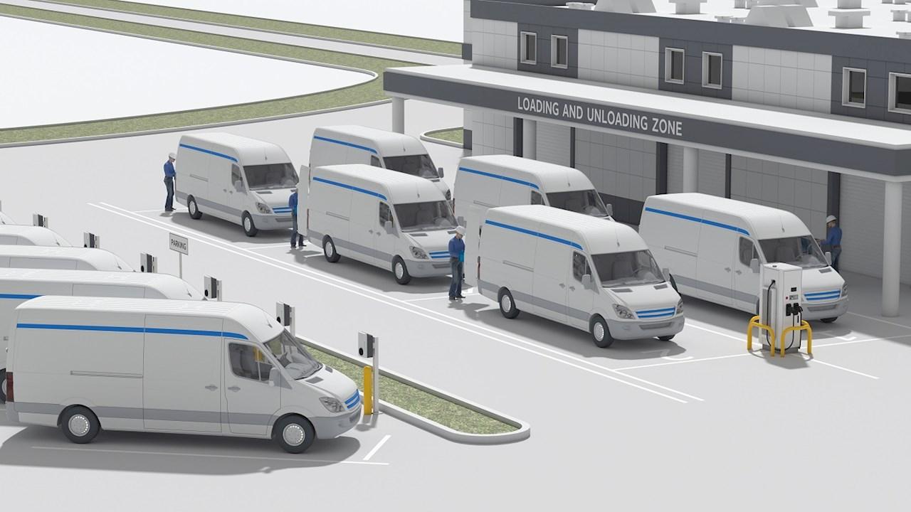 H ABB και οι υπηρεσίες Web της Amazon οδηγούν τους στόλους οχημάτων σε ένα ηλεκτρικό μέλλον