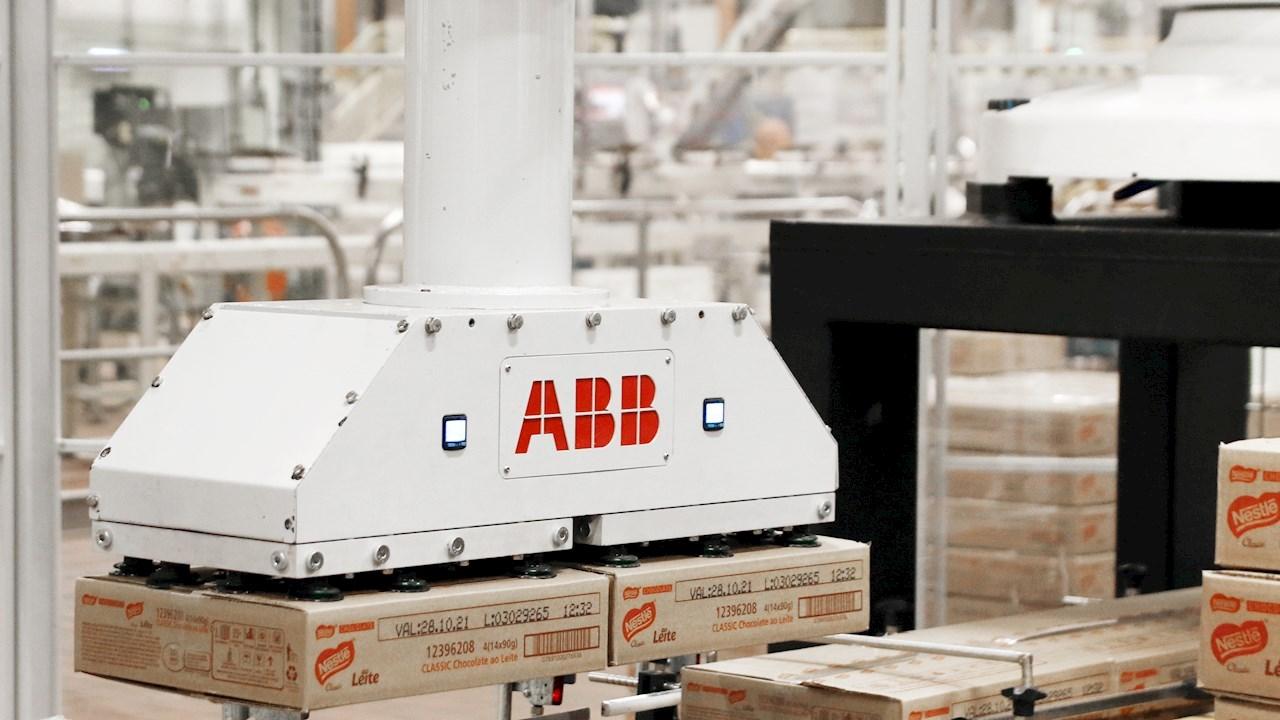 Les robots d'ABB permettent d'accroître la productivité des usines brésiliennes de Nestlé de plus de 50%