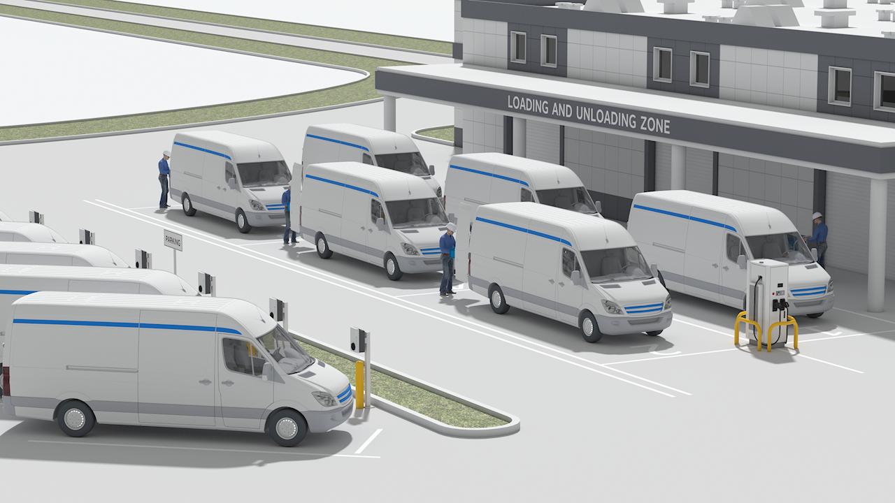 ABB și Amazon Web Services conduc flotele auto către un viitor complet electric