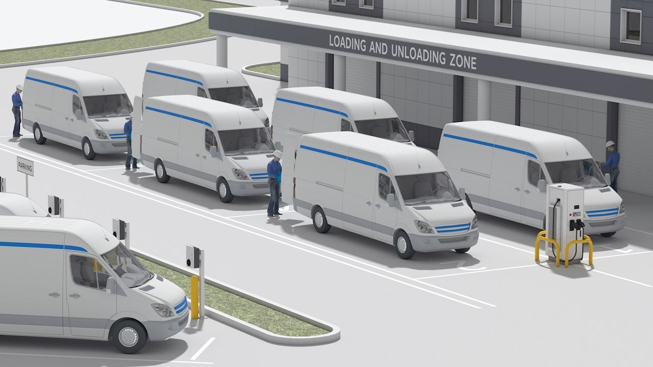 ABB et AmazonWebServices orientent les parcs de véhicules vers un avenir tout électrique