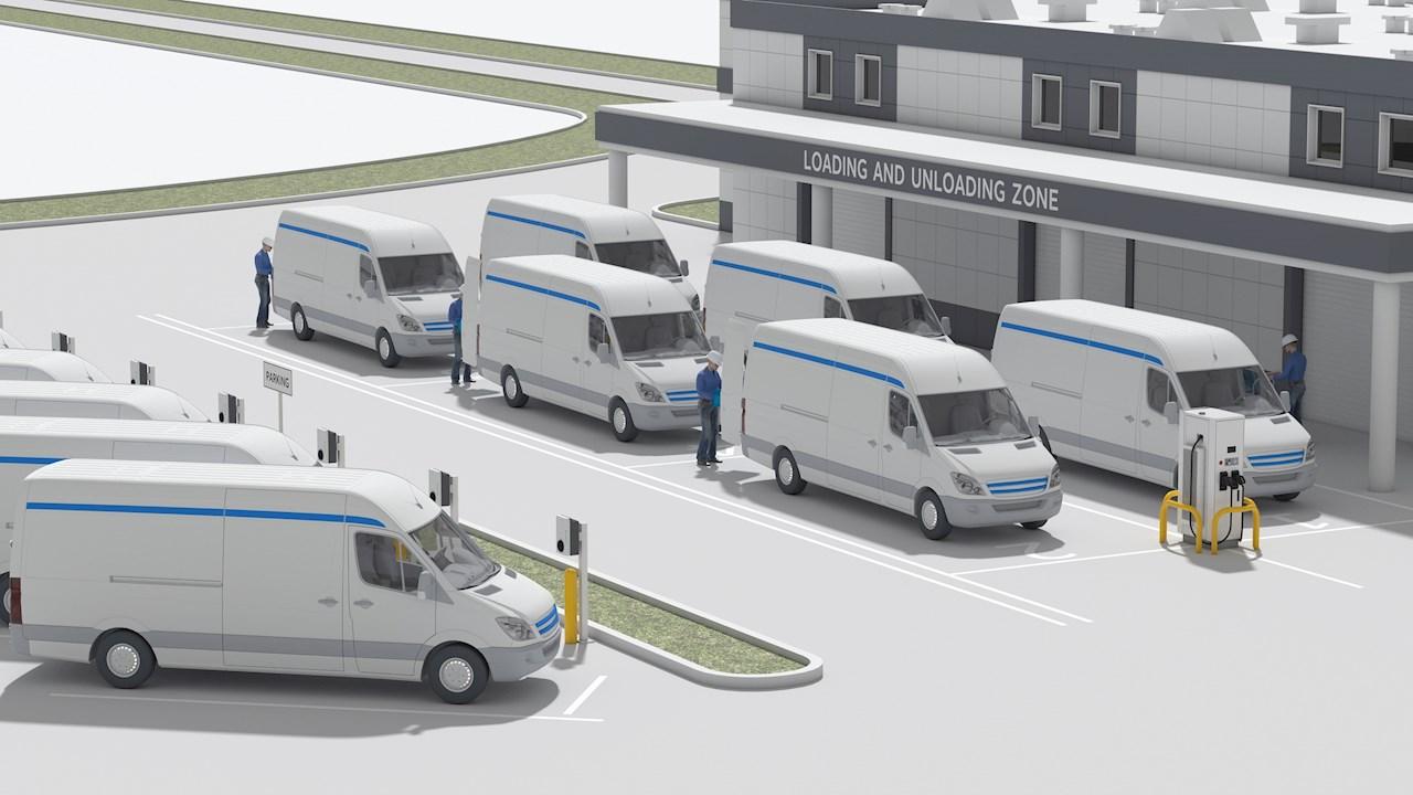 ABB ja Amazon alustasid koostööd elektrisõidukiparkide halduslahenduse alal